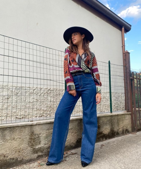 jeans palazzo susy mix